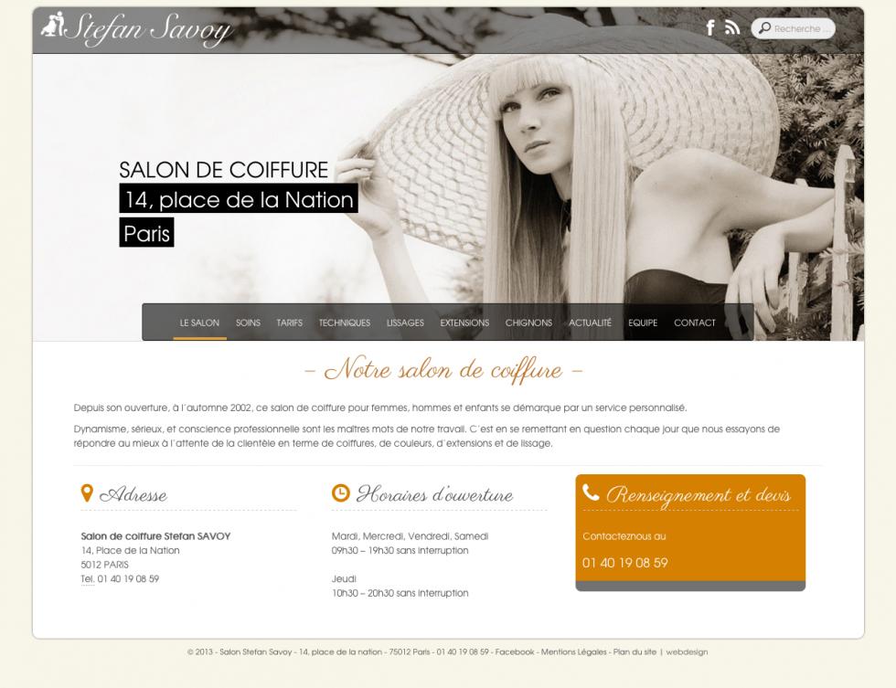 Savoy Accueil desktop